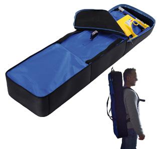 スクープストレッチャー エルゴン【オプション】専用収納バッグ エルゴン用背負い収納バッグ WMR-001