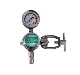 酸素残量計用減圧器 車内配管用減圧器